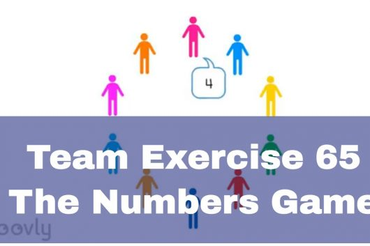 Group bonding activities – The Numbers Game