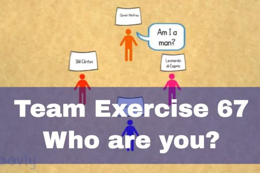 Group bonding games – Who are you?