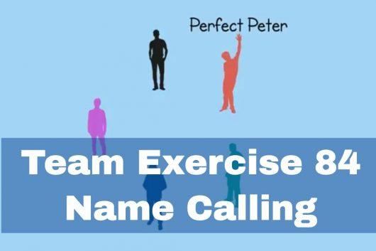 Improvisation Exercises – Calling Names