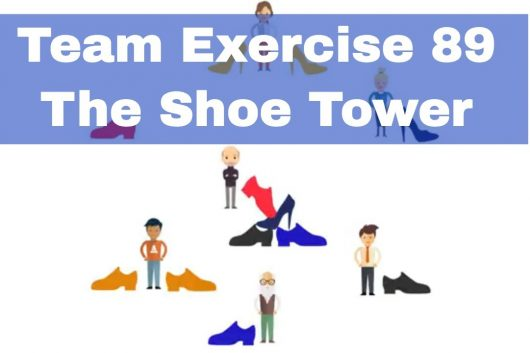 Simple Team building Games – The Shoe Tower