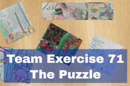 Team Bonding Activities – The Puzzle