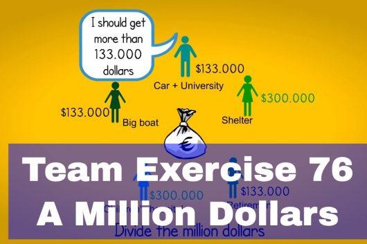 Teamwork Games – A Million Dollars