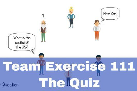 Group Activities – The Quiz